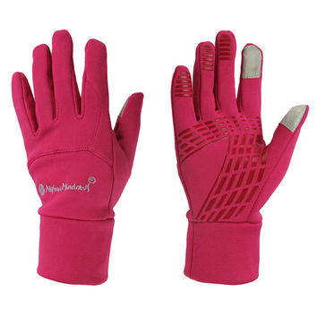 Top Quality Horse Riding Gloves Women Men Child Windproof Touch Screen Equitacion Gloves 4 Color Size S/M/L/XL