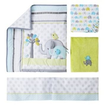 Circo® 4pc Crib Bedding Set - Trunks of Love