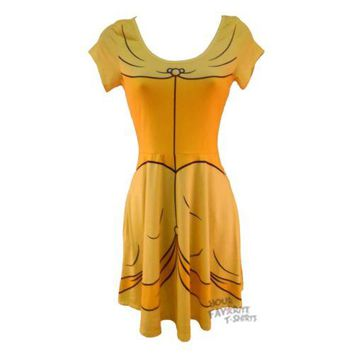 Beauty And The Beast Belle I Am Costume Disney Junior Skater Dress