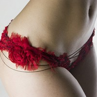 Flower panties by roufe on Etsy