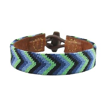 Friendship Needlepoint Bracelet by Smathers & Branson