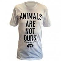 Animals Are Not Ours Unisex T-Shirt: PETA Catalog