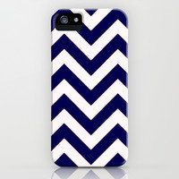 Sailor Chevron iPhone & iPod Case by Pink Berry Pattern