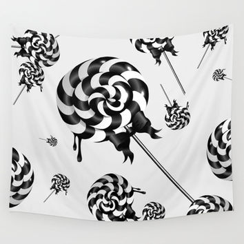 Goth Lollies Wall Tapestry by All Is One