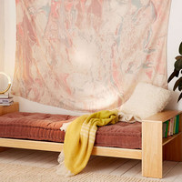 Mixed Marble Gauze Tapestry - Urban Outfitters