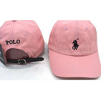 Polo Ralph Lauren Women Men Embroidery Sport Sunhat Baseball Cap Hat