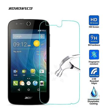 ROROBICO For Acer Liquid Z410 Z520 Zest Z525 Z528 Z530 Z530S Z630 Z630S Z6 Plus 4G Premium Tempered Glass Screen Protector Cover