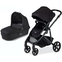 Britax B-Ready Single Baby Pram System Stroller Black w Bassinet