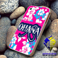 Ohana on Floral Background  For iPhone Case Samsung Galaxy Case Ipad Case Ipod Case