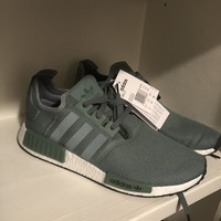 adidas nmd size 12 Olive Green