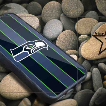 Seattle Seahawkss iPhone Case, iPhone 4/4S, 5/5S, 5c, Samsung S3, S4 Case, Hard Plastic and Rubber Case By Dsign Star 08