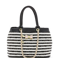 Betsey Johnson Be My Bow Shopper Tote