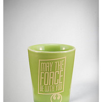2 oz. May the Force Be With You Yoda Ceramic Shot Glass - Spencer's