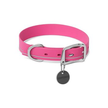 Ruffwear Headwater Waterproof Collar Alpenglow Pink
