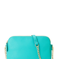 Chain Strap Crossbody Satchel
