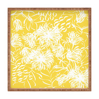 Vy La Bright Breezy Yellow Square Tray
