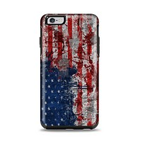 The Grungy American Flag Apple iPhone 6 Plus Otterbox Symmetry Case Skin Set