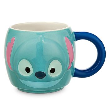 Licensed cool Lilo Stitch Tsum Tsum Ceramic Mug Coffee Cup Genuine Disney Store Exclusive NEW