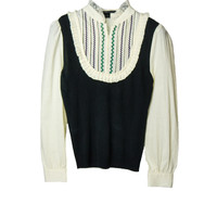 SB041 MARC JACOBS Seventies Romantic Blouse