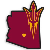 Arizona St. Sun Devils Home State Decal