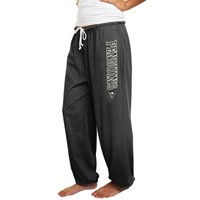 Pittsburgh Penguins Ladies Fleece Pants - Black