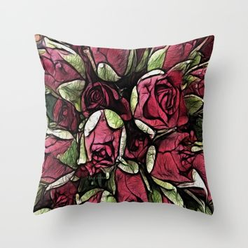 :: New Day :: Throw Pillow by :: GaleStorm Artworks ::