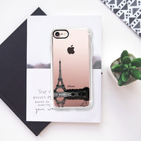 Take Me To Paris Reflection - Travel iPhone 7 Case by Love Lunch Liftoff | Casetify