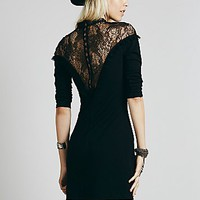 Free People Womens From Dusk Til Dawn Bodycon - Black