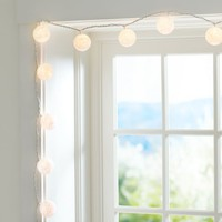 Woven Globe String Lights