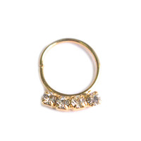 Infinity Crystal Septum Ring