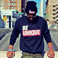 BE Unique Crewneck (Black)