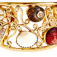 One Kings Lane - By Land & by Sea - Multi Shell Cuff
