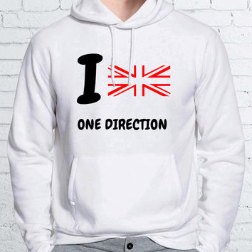 I Love One Direction Unisex Hoodies - ZZ Hoodie