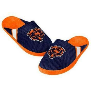 DCCK8X2 NFL Chicago Bears Jersey Slippers