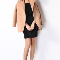 Pre-Fall Signature Cashmere Wool Coat OU0001