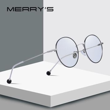 MERRY'S DESIGN Women Fashion Round Glasses Retro Blue Light Blocking Optical Frames Eyeglasses S'2090
