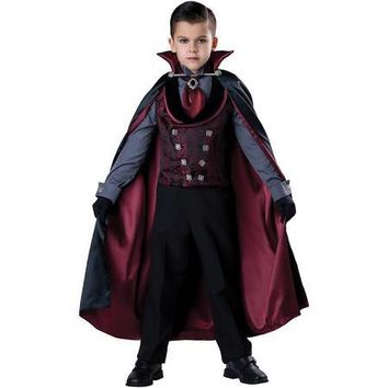 Midnight Count Dracula Costume, Child
