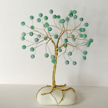 Dragon Vein Wire Tree,wire tree of life,wire tree sculpture,gem tree,gemstone tree,beaded tree