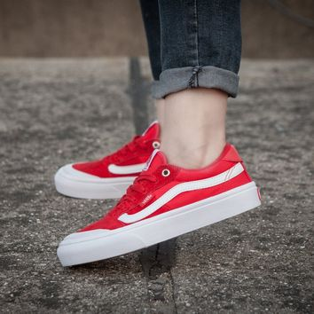 LMFON Vans Style 112 Pro F176 Red Low Tops Flats Shoes Canvas Sneakers Sport Shoes