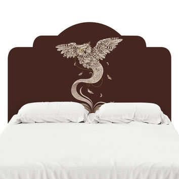 Flow of Wisdom Headboard Decal