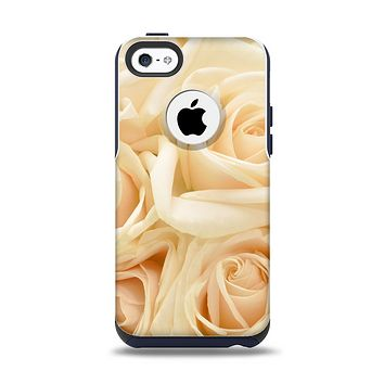 The Subtle Roses Apple iPhone 5c Otterbox Commuter Case Skin Set