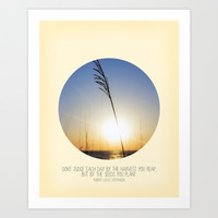 Each Day - Photo Inspiration Art Print by Misty Diller of Misty Michelle Design