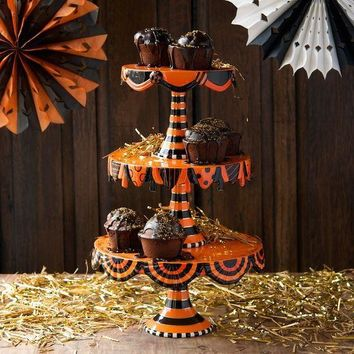 Halloween Stacking Cake Plate