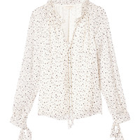 Scattered Star Print Clip Top | Rebecca Taylor