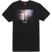 Visual by Van Styles Twilight T-Shirt - Mens Tee - Black