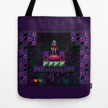 Metroid - Justin Bailey Tote Bag by Likelikes