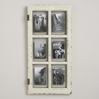 White Windowpane Frame - World Market