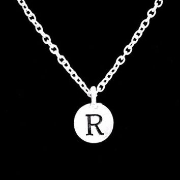 Choose Initial Letter Personalized Gift Daughter Friend Sister Mom Necklace