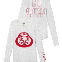 The Ohio State University Long-sleeve Thermal Tee - PINK - Victoria's Secret