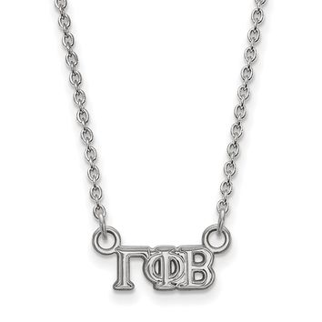 Sterling Silver Gamma Phi Beta XS Necklace